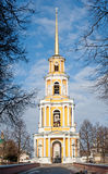 View on the Tower bell  in Ryazan kremlin Royalty Free Stock Photos