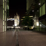 View of Tower Bridge and County Hall Stock Photography