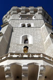 View of tower castle at Hluboka nad Vltavou town Stock Photo