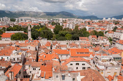 View from the tower in Diocletians Palace, Split,  Stock Images
