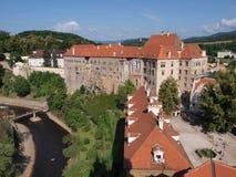 Český Krumlov Castle Stock Photography