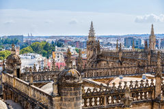 View from tower Giralda Stock Photo