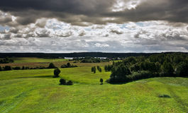 View from the tower, Lithuania 2 Stock Photo