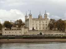 View on tower of london Royalty Free Stock Photography
