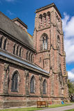 View on tower and side of Saint Andrews Cathedral. Royalty Free Stock Photos