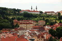 View from Tower St. Nicholas Church, Lesser Town, Prague, Czech Republic Stock Photography