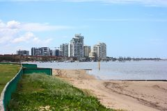 View of Towers. Taken at Southport or close to there, Queensland, Australia . Amazing view. You guys need to come here Stock Photo