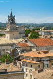 View on town Avignon, France Stock Images