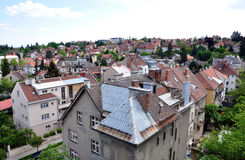 View the town of Brno, Czech Republic, Europe Stock Photo