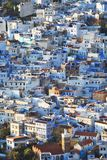 View of the town Chefchaouen Stock Photography