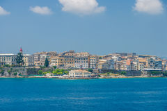 View on the town of Corfu Royalty Free Stock Photos