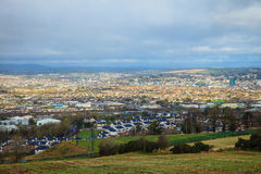 View of town Cork. County Cork, Ireland. Stock Image