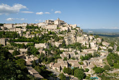View of the town Gordes, France Royalty Free Stock Photography