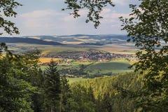 View of the town Hrabushitse Royalty Free Stock Photo