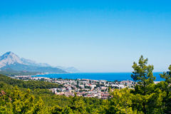 Kemer city Royalty Free Stock Images