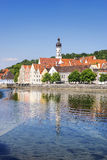 View town Landsberg am Lech Stock Image