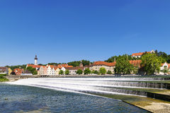 View town Landsberg am Lech Royalty Free Stock Images