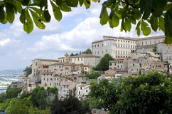 View from the town of Orvieto Stock Photos