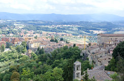 View from the town of Orvieto Royalty Free Stock Photography