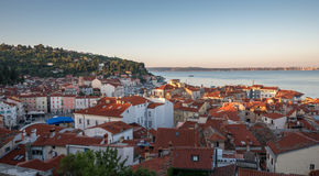 View of the Town Piran, Slovenia Stock Images