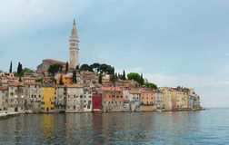 View of the town of Rovinj Royalty Free Stock Photos