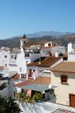 View of town, Sayalonga, Spain. Royalty Free Stock Photos