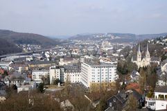 View of town Siegen, Germany Stock Photography