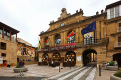 View of Town Square in Haro, La Rioja Royalty Free Stock Photography