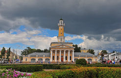 View of the Town square of Kostroma Stock Photography