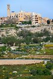 Imtarfa town and countryside, Malta. Royalty Free Stock Photos
