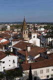 View of the town of Tomar, District of Santarém, Royalty Free Stock Photography