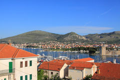 View of the town of Trogir Stock Images