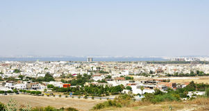 View of a town in Tunisia Royalty Free Stock Images