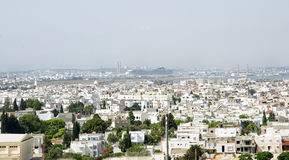 View of a town in Tunisia Stock Image