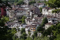 View from town Veliko Tarnovo Stock Image