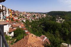View from town Veliko Tarnovo Royalty Free Stock Photos