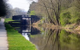 View from the Towpath Royalty Free Stock Photo