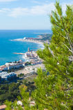 View towrads Sitges Royalty Free Stock Photo
