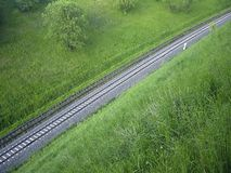 View on a track Royalty Free Stock Images