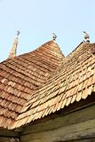 View of traditional church roof Royalty Free Stock Images