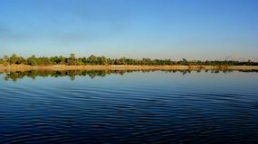 Nile shore on a sunny day royalty free stock photos