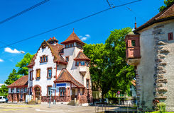 View of a traditional house in Basel Royalty Free Stock Photos