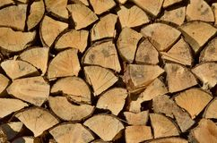 Traditional storage timber , southern Bohemia royalty free stock photography