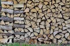 Traditional storage timber , southern Bohemia . Czech Republic royalty free stock photography