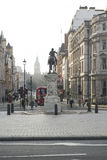 View from the Trafalgar Square Royalty Free Stock Photo