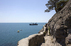 Crimea. Noviy Svet. Royalty Free Stock Photography