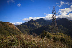 View from the Tram Ton Pass near Sapa Stock Photo