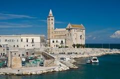 View of Trani. Puglia. Italy. Stock Image