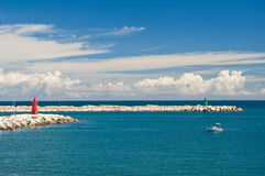 View of Trani. Puglia. Italy. Stock Images