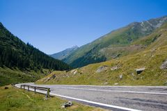 View from Transfagarasan Stock Image